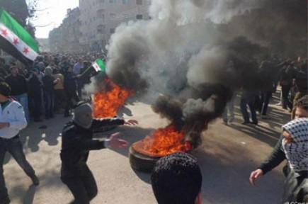 Suriye'deki ayaklanmanın 2. yılında