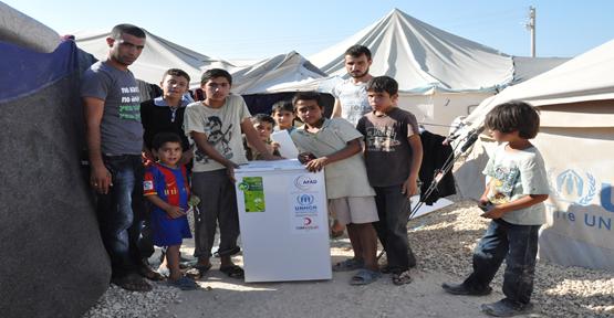 Suriyeli Mültecilere Mini Buzdolabı