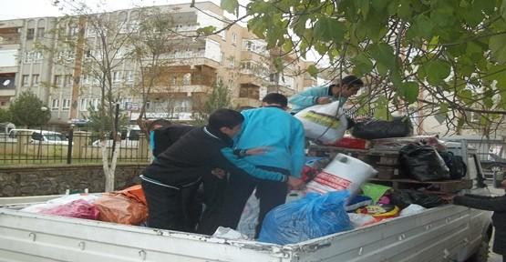 Suriyeli sığınmacılara yardım eli