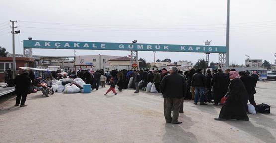 Suriyeliler ülkelerine döndü