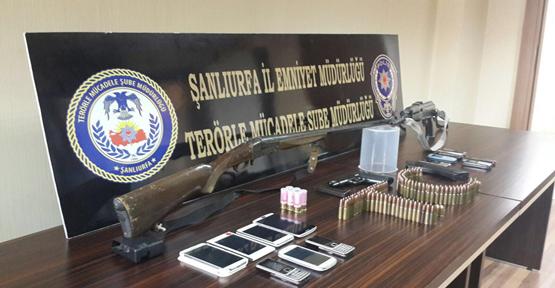 Suruç'ta terör operasyonu, 3 gözaltı