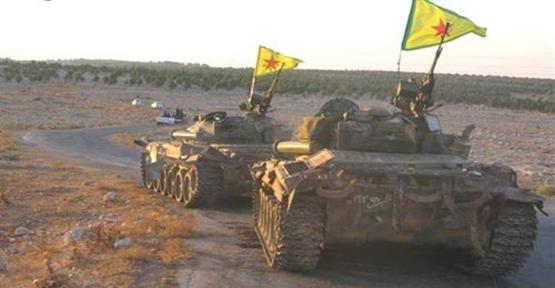 Tanklar Kobani'ye Doğru Yola Çıktı