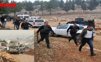 Eyyübiye ilçesinde polise saldırı