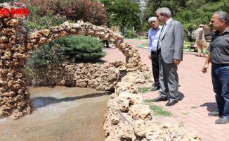Başkan Demirkol, Şair Nabi Mahallesinde Tamamlanan Çalışmaları İnceledi