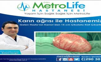 Özel Metrolife Hastanesinden Başarılı Ameliyat
