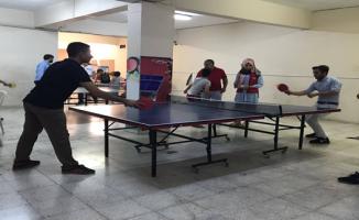 Gençler Masa Tenisi Turnuvasıyla Bir Araya Geldi