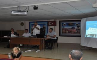 Okul Yöneticilerine Bilgilendirme Toplantısı Yapıldı