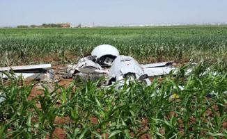 Viranşehir'de Mısır Tarlasına İHA Düştü