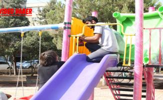 Haliliye'de Parklar Çocuklar İçin Dizayn Ediliyor