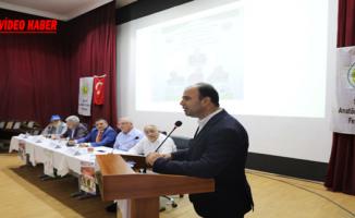 """Şanlıurfa'da """"Türk Futbolunda Altyapı Ve Çözümleri"""" Konuşuldu"""