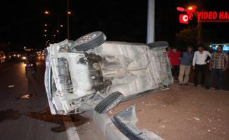 Sırrın'da Kaza, 2 Yaralı