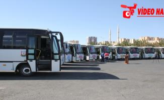 Büyükşehir Belediyesinden 10 İlçeye Otobüs Desteği