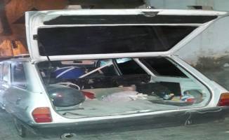 Çelik Kasa Hırsızları Polisten Kaçamadı