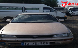 Urfa Polisinden Çalıntı Araba Operasyonu