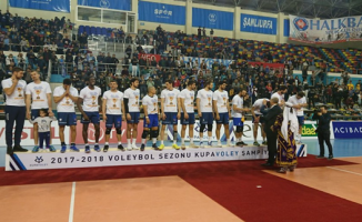 Kupa Voley'in şampiyonu Halkbank