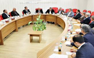Oda ve Borsa Müşterek Toplantısı Urfa'da yapıldı