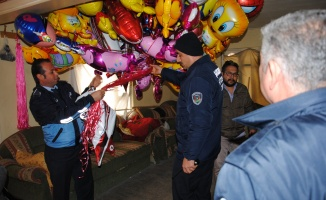 Kaçak balon imalatçılarına operasyon