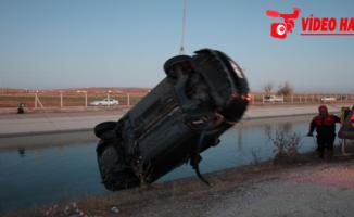 Urfa'da sulama kanalına otomobil düştü, 2 ölü