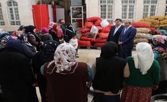Başkan Demirkol: Aşevi'ne 500 Bin Ekmek Haliliye Belediyesi'nden