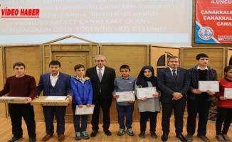 Haliliye Belediyesi Çanakkale Yarışmalarında Ödüller, Sahiplerini Buldu