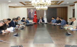 Geçici Barınma Merkezleri Koordinasyon Toplantısı Yapıldı