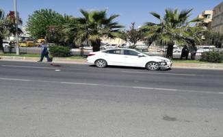 SSK yolunda kaza, 1 yaralı