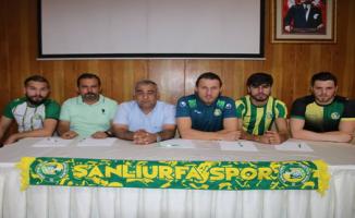 Şanlıurfaspor'da 4 imza