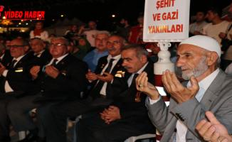 Urfa'da, 15 Temmuz Demokrasi Zaferi Ve Şehitleri Anma Etkinliği