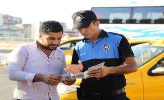 Şanlıurfa'da Polis Hırsızlığı Önlemek İçin Broşür Dağıttı