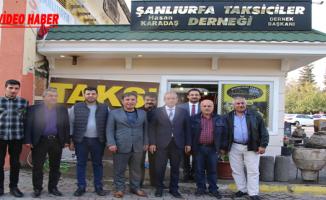 Başkan Demirkol, Taksici Esnafıyla Bir Araya Geldi