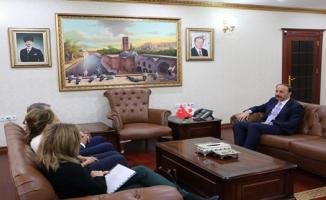 Kanada Ankara Büyükelçisi Şanlıurfa'da
