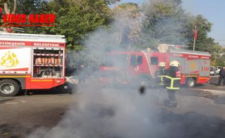 Yangın İhbarı Tatbikat Çıktı