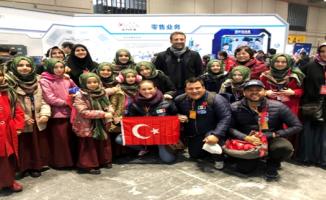 """Çin'den Konyalı öğrencilere """"En Popüler Takım"""" ödülü"""