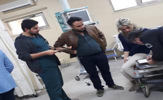 Hastane Önünde Doktor Darp Edildi
