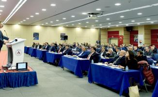 ŞUTSO Yönetim Ve Meclis Üyeleri İle Bir Araya Geldi