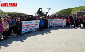 Başkan Demirkol, Öğrencilere Çanakkale Ruhunu Yerinde Yaşattı
