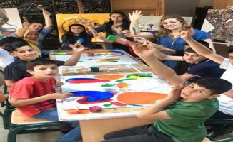 Türk ve Suriyeli çocuklar Harran Çocuk Üniversitesi'nde bir araya geldi