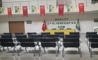Şanlıırfaspor'da Katılım Olmadı