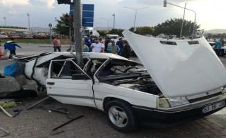 Haliliye'de Trafik kazası, 1 yaralı