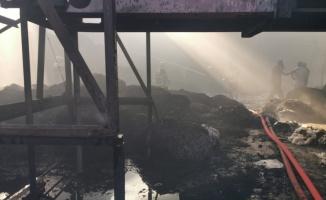 Şanlıurfa OSB'de Korkutan Yangın