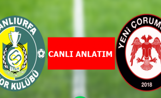 Şanlıurfaspor- Yeni Çorumspor