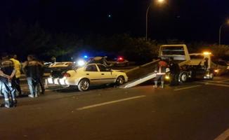 Urfa'da Trafik Kazası, 1ölü, 1 Yaralı