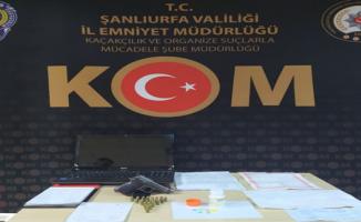 Urfa polisinden operasyon, 5 gözaltı