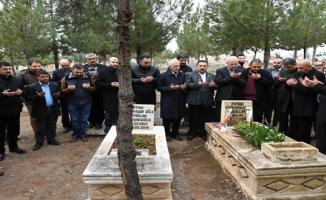 Sanatçı Abdullah Balak Mezarı Başında Anıldı