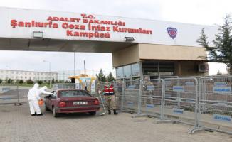 Şanlıurfa Adliyesi ve cezaevlerinde koronavirüs tedbirleri alındı