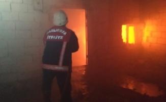 Haliliye'de yangın