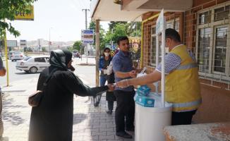 Haliliye'de Halk Sağlığı İçin Maske Dağıtımı Sürüyor