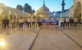 AK Parti Gençlik Kolları Ayasofya için Dergah'ta buluştu