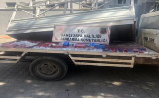 Şanlıurfa'da 28 bin 40 paket kaçak sigara ele geçirildi