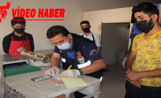 Eyyübiye Belediyesi Zabıta Ekipleri Denetimlerine Devam Ediyor